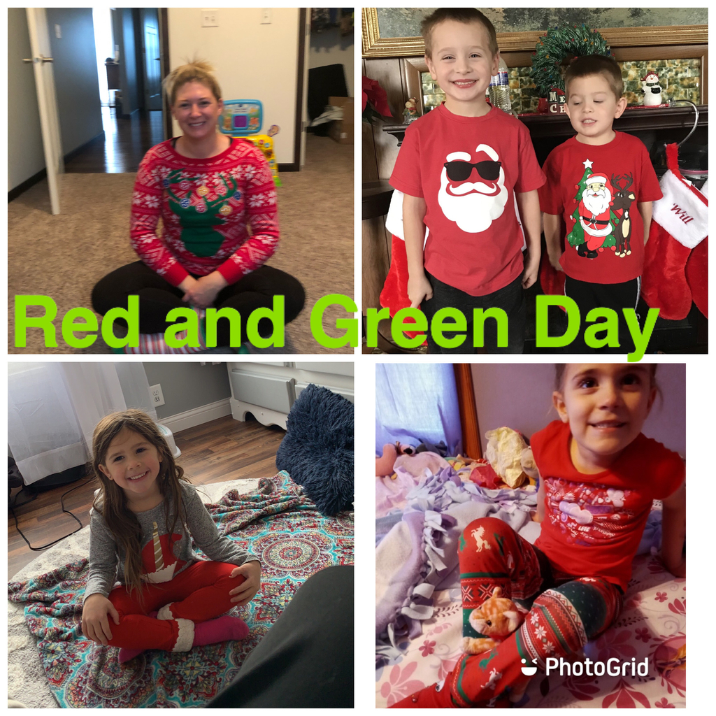Red and Green Day.